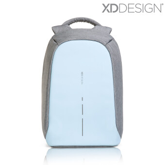 Harga XD Design Bobby Compact Anti-Theft Backpack (Pastel Blue) - FreeMini Bobby & Rain Cover