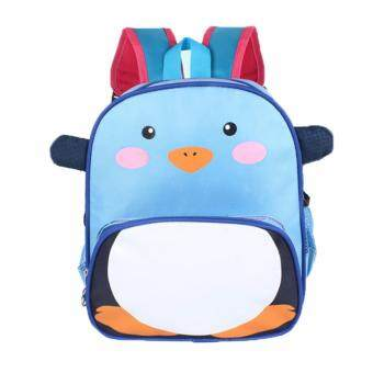 Harga KIDS Kindergarten Nursery Ice Penguin Kid Children Toddler Junior Cartoon Bag Backpack