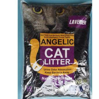 Harga ANGELIC Natural Bentonite Cat Litter 10L ( LAVENDER )