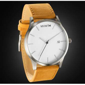 Harga Watch MVMT(MMT1) Fashion Leather Strip (Fast Delivery)