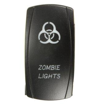Harga 5 Pin Laser LED Light Bar Rocker Toggle Switch Narva ARB Carling Style Car Boat (Zombie Light)