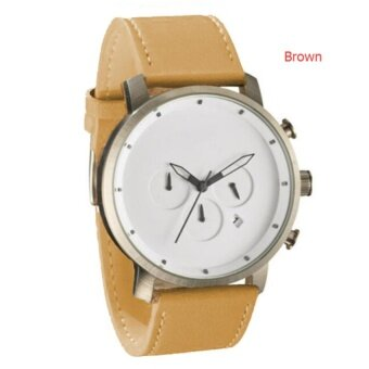 Harga La MVMT1 Men's Fashion Frost Leather and Simple Watch