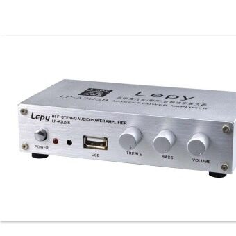 Harga Eaglerich Genuine Lepai LP-A2 + 12V USB MP3 Card HI-FI Stereo Amplifier Digital Power Amplifier 15W*2 Audio Amp With Speaker Protection