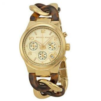 Harga Michael Kors MK4222 Women's Runway Twist watch