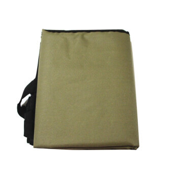 Harga Waterproof Dog Cat Pet Supply Car Back Seat Cover Hammock ProtectorBlanket Mat Army Green