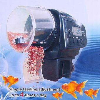 Harga All about Home Aquarium Automatic Fish Food Tank Feeder Timer
