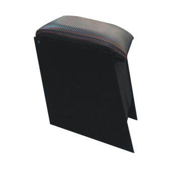 Harga Kembara Car Armrest Console Box Black Carbon Red Line