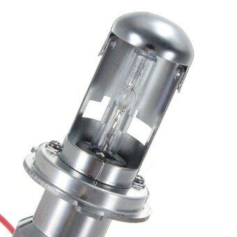 Harga 2PCS 35W H4 HID Xenon Bi-xenon Conversion Hi/Lo 6000K Bulb Light Head Lamp (Intl)