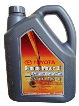 Harga 10W-40 Toyota Genuine Motor Oil Synthetic