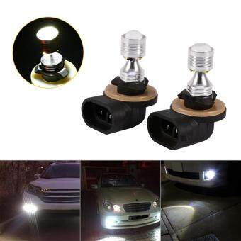 Harga 881 30W Projector 6 LED Bulb Fog Driving Light Lamp White