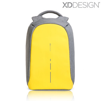 Harga XD Design Bobby Compact Anti-Theft Backpack (Primrose Yellow) -Free Mini Bobby & Rain Cover
