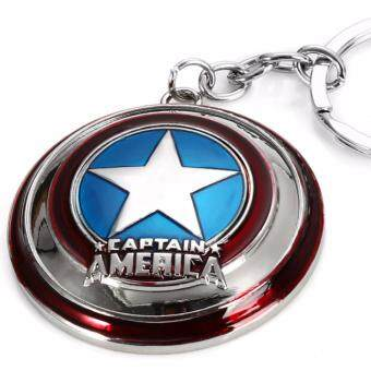 Harga New Hero Marvel Character Captain America KeyChain Keyrings Key Chain