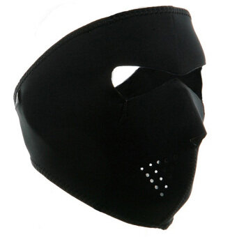 Harga Cycling Hiking Neoprene Full Face Mask Black