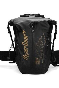 Harga Hypergear Backpack DryPac Pro Gold 30 - Black