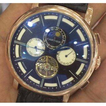 Harga CALIBRE DE CARTIER CHRONOGRAPHE BS ROSE GOLD