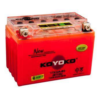 Harga KOYOKO NANOGEL BATTERY YTX12A-BS 12V12AH /10HR