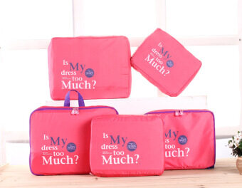 Harga Fadish Funny Fancy 5 in 1 Travel Bags (Watermelon Pink)