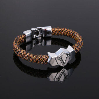 Harga Metal Bangle Assassin's Creed Weave Wristband Game Bracelet Cosplay Gift