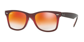 Harga RAY-BAN WAYFARER MIRROR GRADIENT RED Lenses RB2140F 12004W MAN SUNGLASS