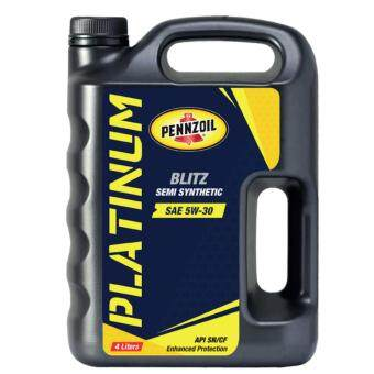 Harga PENNZOIL SEMI SYNTHETIC (5W-30) MOTOR OIL 4 LITER