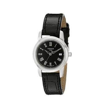 Harga Tissot Watch Classic Dream Black Stainless-Steel Case Leather Strap Ladies SWISS NWT + Warranty T0332101605300