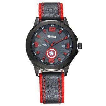 Harga Marvel Captain America Avengers Mens Watch By Disney - MV-82002R2