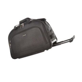 Harga Alain Delon Executive Trolley Travelling Bag (Black)