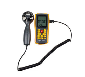 Harga GM8902 Digital Anemometer Wind Speed Meter Air Flow Tester Air Temperature Meter Measuring 0~45m/s with USB Interface anemometro