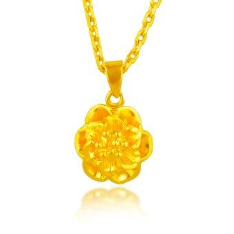 Harga ONLY 24K Golden The Beauty Of The Golden Flower Necklace