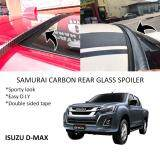 Broz Isuzu D-max Samurai Carbon Rear Top Windscreen OEM Glass Spoiler (4.5cm)