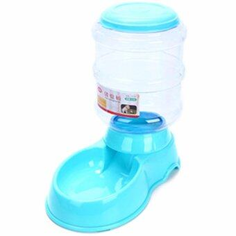 Japanese Style High Volume 3.5L Automatic Pet Food Feeder (Blue)
