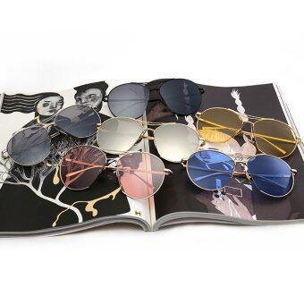 JINQIANGUI Sunglasses Women Oval Sun Glasses Pink Color BrandDesign - 5