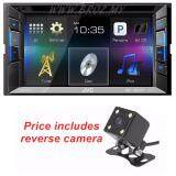 JVC KW-V11 6.2 Touch Screen Monitor DVD/USB Multimedia Receiver + Reverse Camera Worth RM99