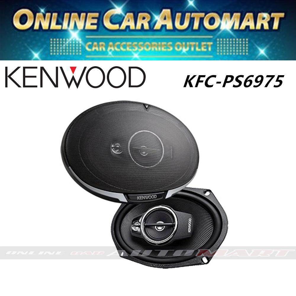 """Kenwood KFC-PS6975 500W 6x9"""" 3 Way Performance Speaker System"""