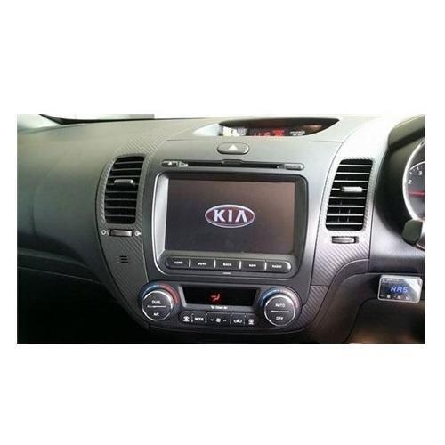 "KIA CERATO K3 2013 - 2017 DLAA 8 Full HD Double Din GPS DVD CD USB SD BLUETOOTH TV Player FREE TV Antenna"""