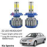 Broz Kia Spectra (Head Lamp) Z2 LED Light Car Headlight Auto Head light Lamp 6000k White Light