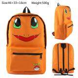 Kisnow Japan Fashion Canvas Leisure 3D Student Sch**L Travel Backpacks Color As Main Pic Orange ใหม่ล่าสุด