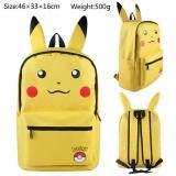 ราคา Kisnow Japan Fashion Canvas Leisure 3D Student Sch**L Travel Backpacks Color As Main Pic Yellow Kisnow ใหม่