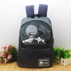 ซื้อ Kisnow ประเทศญี่ปุ่นแฟชั่นผ้าใบเดินทางท่องเที่ยวนักเรียนกระเป๋าเป้สะพายหลัง สี เป็นรูปหลัก สีฟ้า นานาชาติ ใหม่ล่าสุด