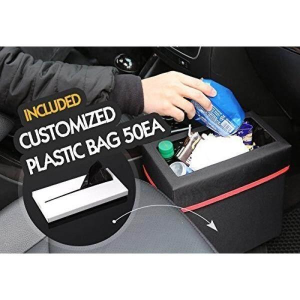 KMMOTORS Aladdin Wastebasket Car GARBAGE CAN including 50PCS PLASTIC BAG (Black) - intl
