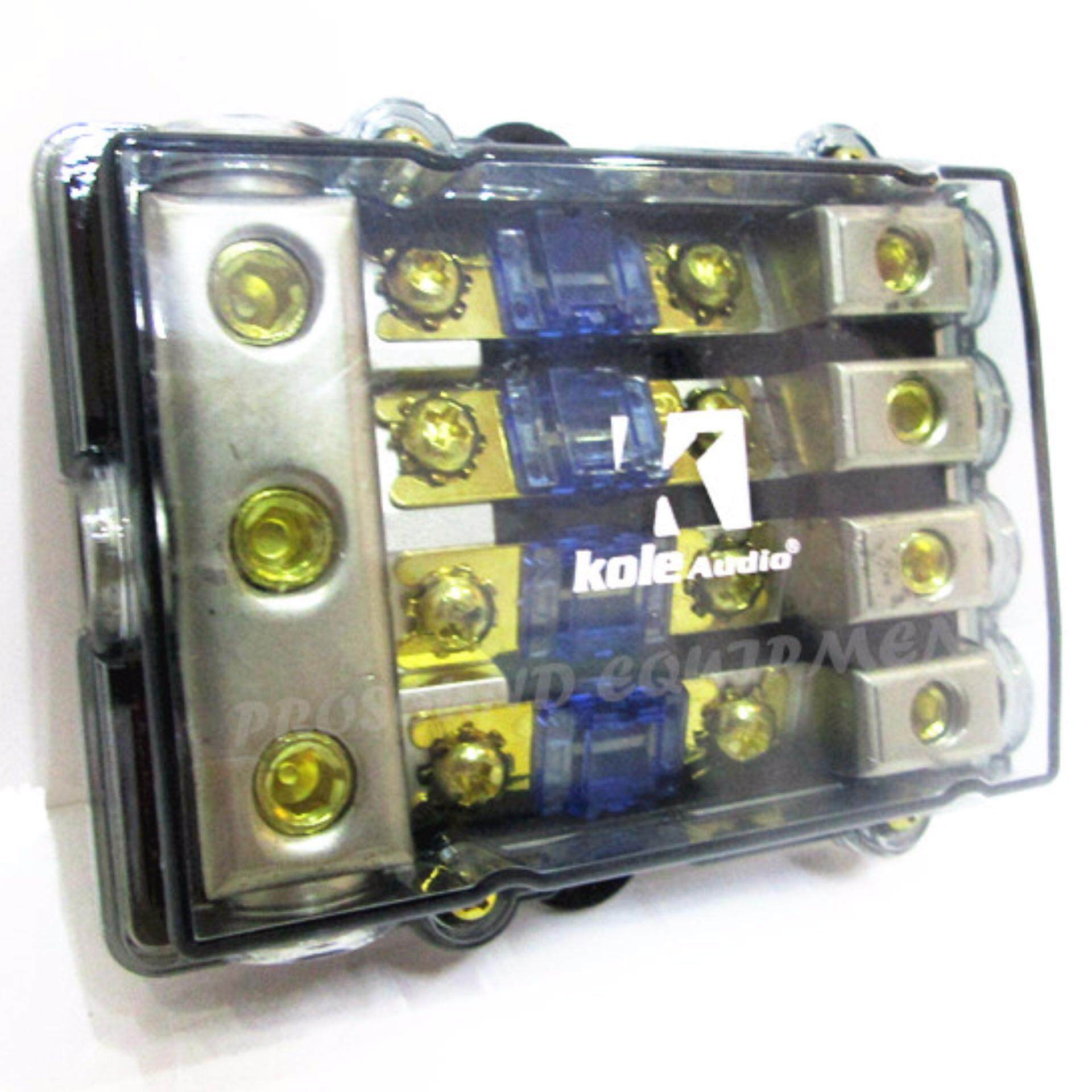 kole audio 1 on 4 fuse box holder car audio system 1488845240 96697612 85be7590e7489dda3f47d98f9b7726fd kole audio 1 on 4 fuse box holder car audio system lazada malaysia fuse box holder at gsmx.co