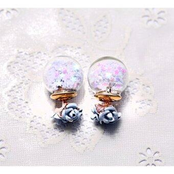 Harga Korea Lucky Star Two Way Wearing Earring