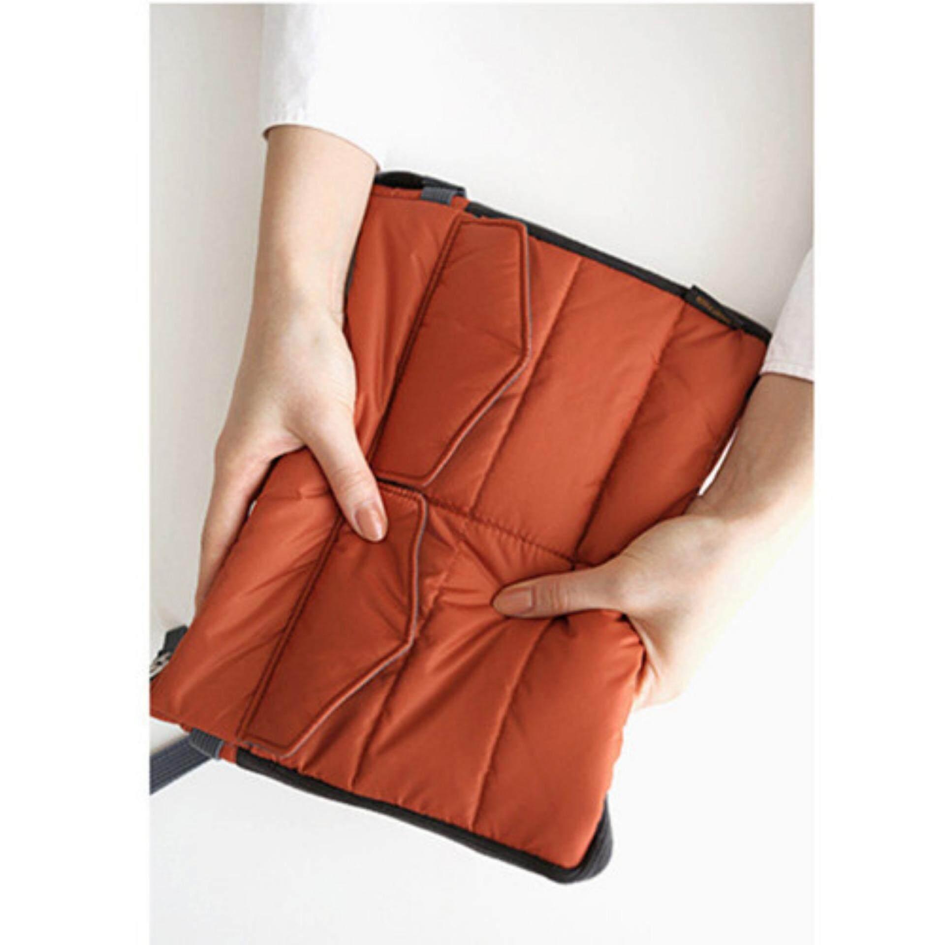 Korea Style Multifunction Gadget Pouch/Bag Organizer (1) Orange Brown