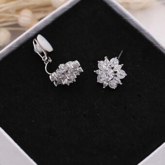 cek harga dan qualitas s925 silver needle earrings korean