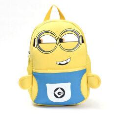 ขาย Korean Fashion 2 8 Years Old Children Cute Lovely Cartoon Backpacks Bag Color Blue เป็นต้นฉบับ
