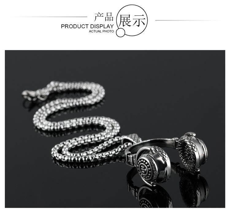 Korea Modis 925 Sterling Perak Kalung Liontin Sebagai Hadiah atau Pernikahan Pakaian Populer Di Eropa dan Amerika-Internasional
