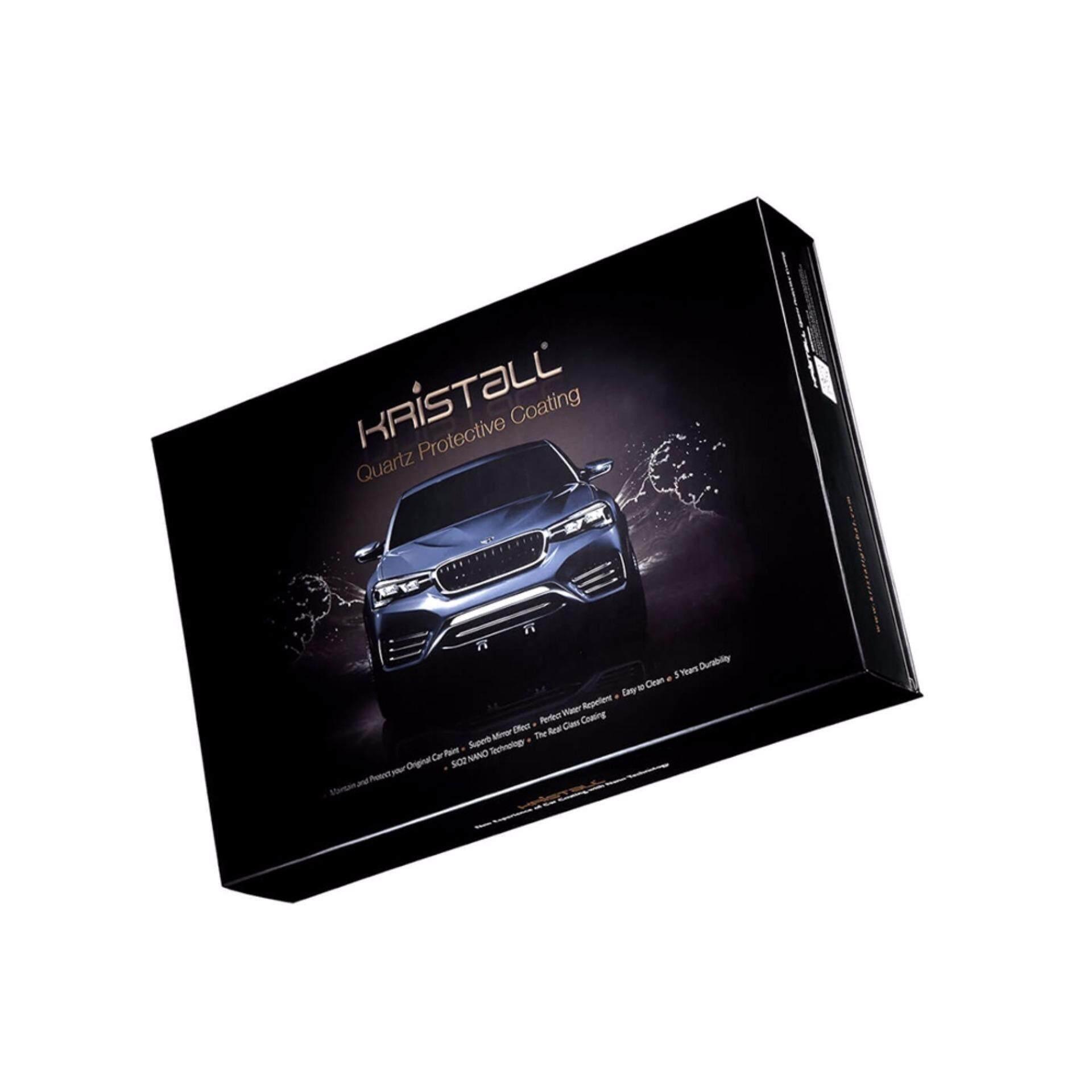 Kristall® Quartz Car Body Protective Coating for Car Paint Body Protective New Nano Technology Liquid Glass Quartz Sio2 Coat Nanotech (Premium Pack)