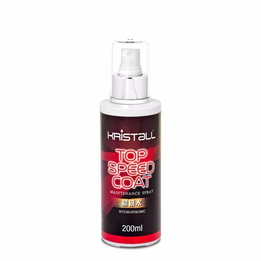 Kristall® Top Speed Car Coating Kit - Deep Gloss Liquid Nano Coating, Exterior Care Paint Coating, Long Lasting Surface Nano Technology
