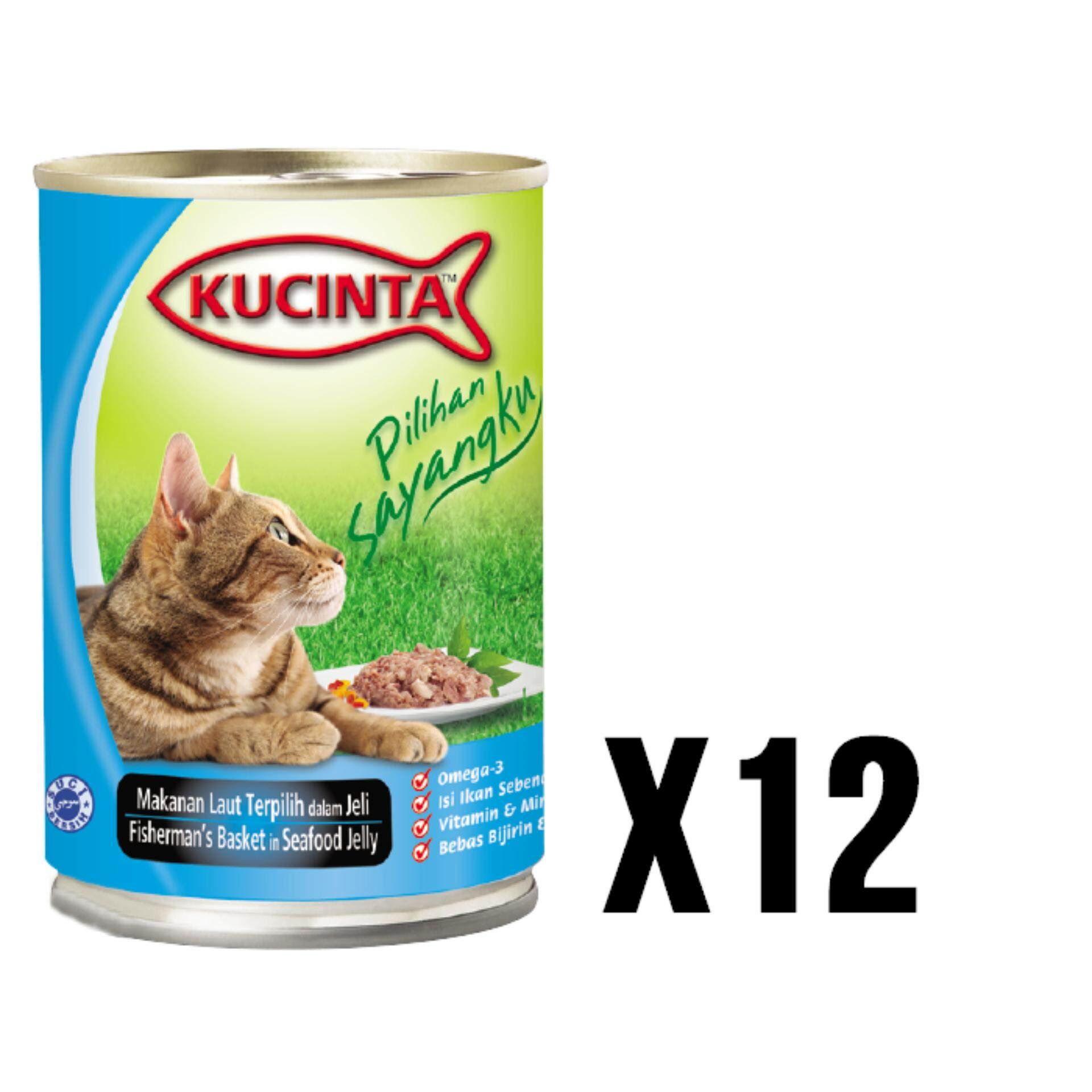 Kucinta Fisherman\'s Basket in Seafood Jelly Canned Food 400G