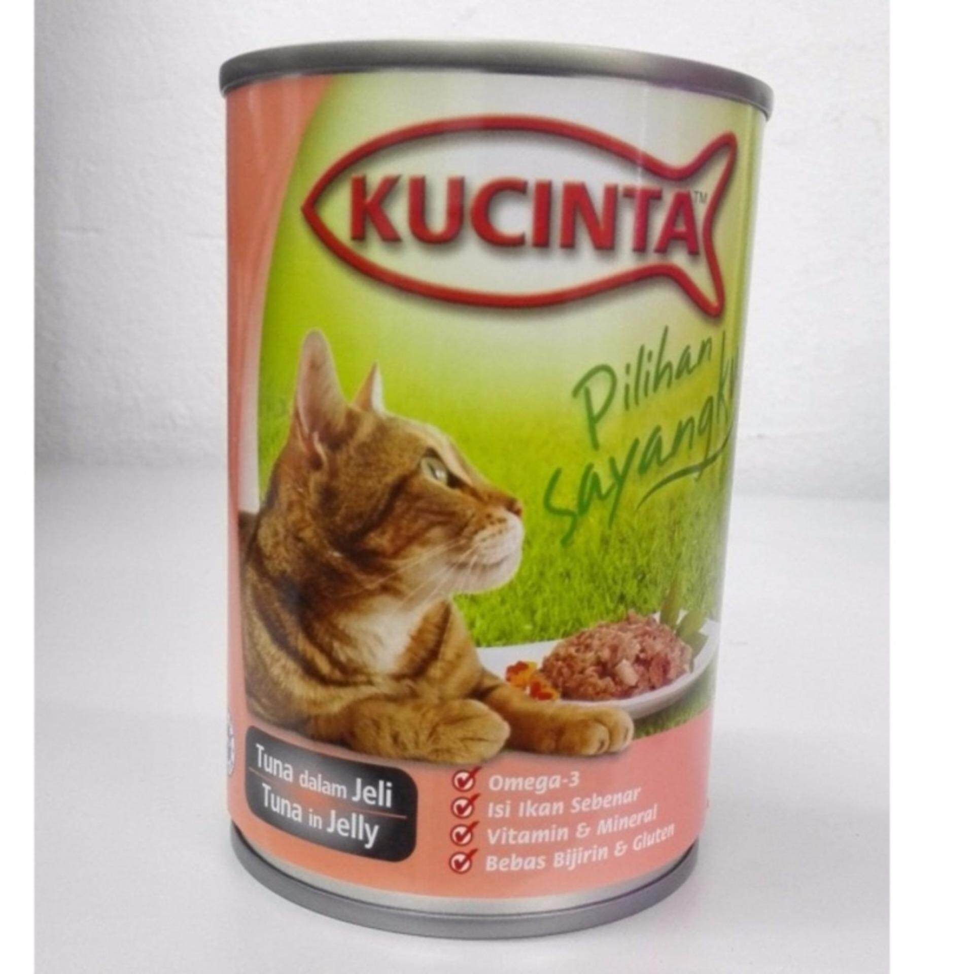 Kucinta Tuna in Jelly Canned Food 400G (24 CANS)